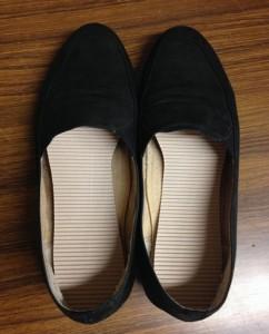 使用した靴