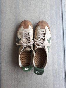 ランニング使用靴