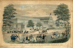 1850年代のイギリス(1851年 ロンドンで世界初の万国博覧会)